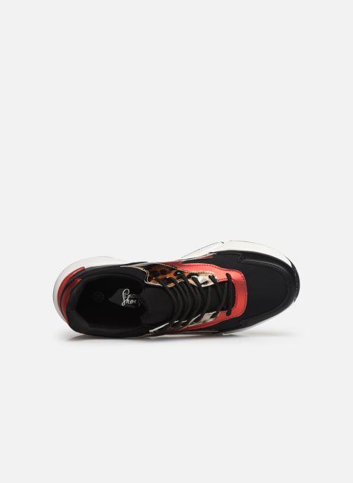Sneaker I Love Shoes THULIA schwarz ansicht von links