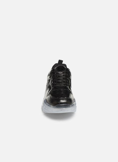 Baskets I Love Shoes THELUCE Noir vue portées chaussures