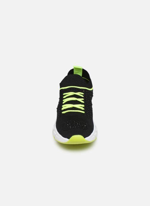 Baskets I Love Shoes THUNO Noir vue portées chaussures
