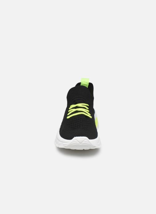 Baskets I Love Shoes THINEON Noir vue portées chaussures