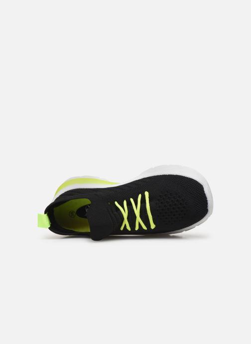Baskets I Love Shoes THINEON Noir vue gauche