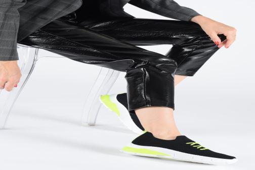 Baskets I Love Shoes THINEON Blanc vue bas / vue portée sac