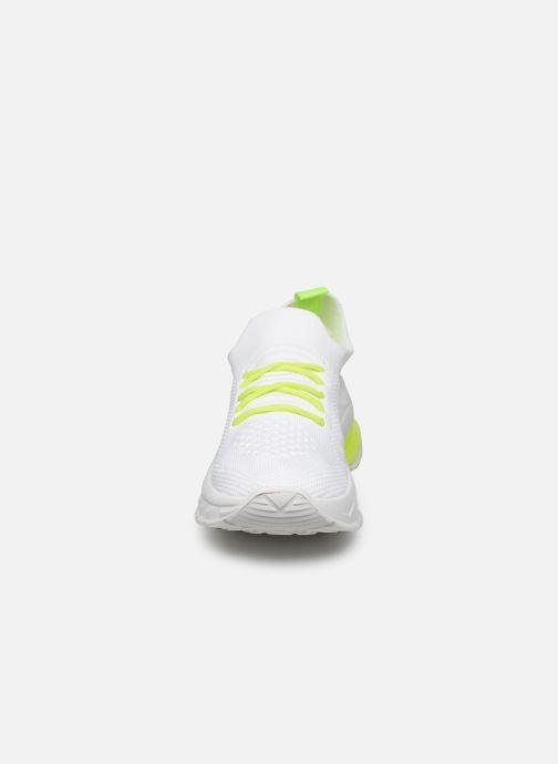 Baskets I Love Shoes THINEON Blanc vue portées chaussures
