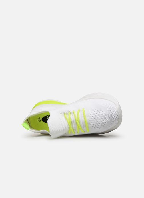 Baskets I Love Shoes THINEON Blanc vue gauche