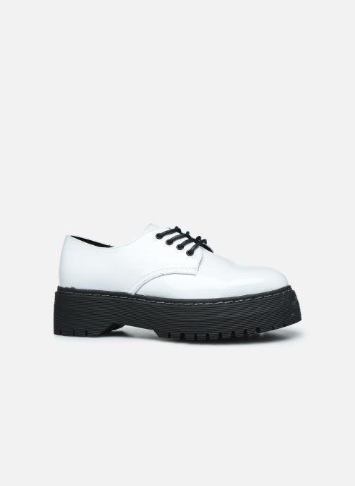 Zapatos con cordones I Love Shoes THOUPLA Blanco vistra trasera
