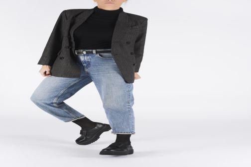 Schnürschuhe I Love Shoes THOUPLA schwarz ansicht von unten / tasche getragen