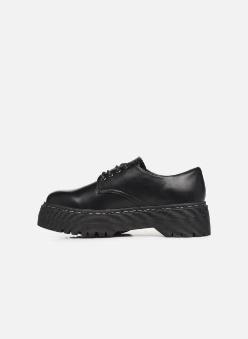 Schnürschuhe I Love Shoes THOUPLA schwarz ansicht von vorne