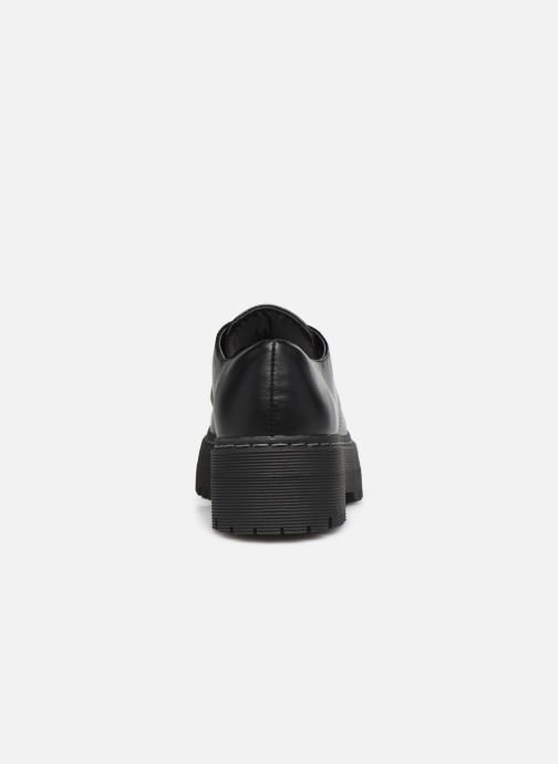 Scarpe con lacci I Love Shoes THOUPLA Nero immagine destra