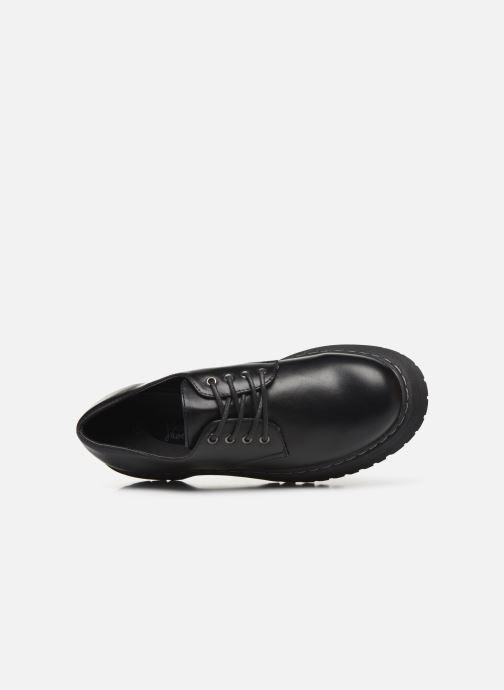 Scarpe con lacci I Love Shoes THOUPLA Nero immagine sinistra