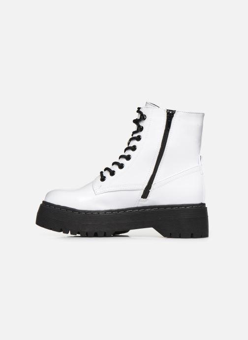 Boots en enkellaarsjes I Love Shoes THODOK Wit voorkant