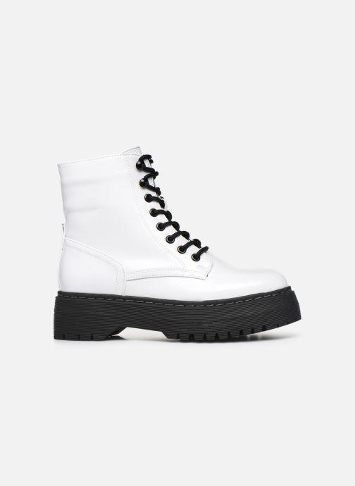 Boots en enkellaarsjes I Love Shoes THODOK Wit achterkant