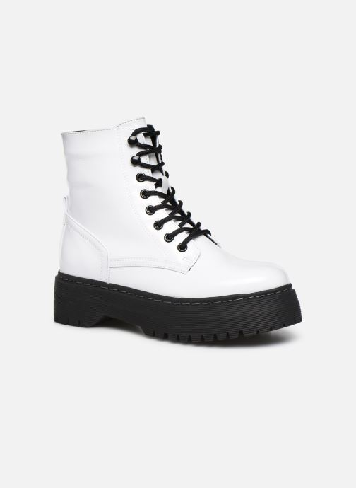 Boots en enkellaarsjes I Love Shoes THODOK Wit detail