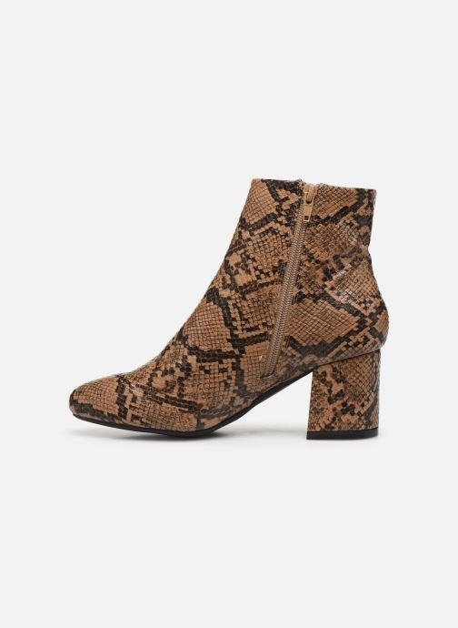Botines  I Love Shoes THEPOP Beige vista de frente