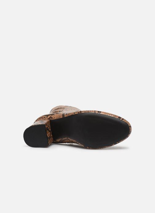 Botines  I Love Shoes THEPOP Beige vista de arriba