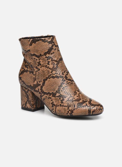 Boots en enkellaarsjes I Love Shoes THEPOP Beige detail