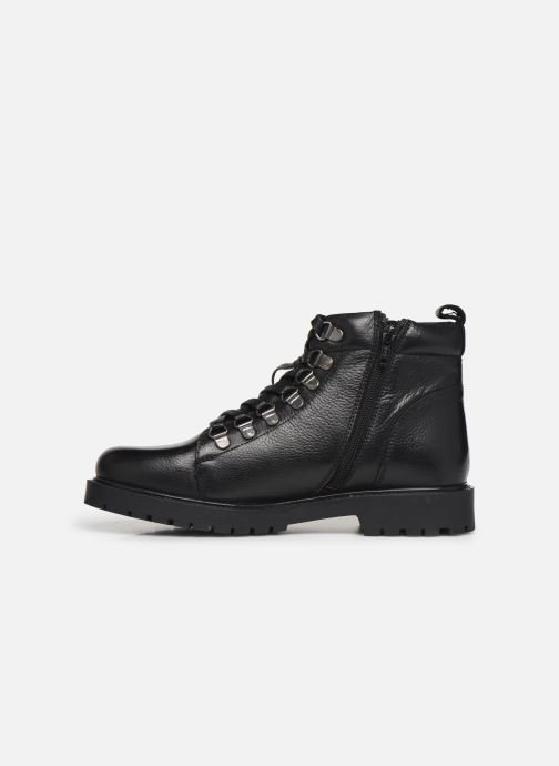 Ankle boots I Love Shoes THARCHE LEATHER Black front view