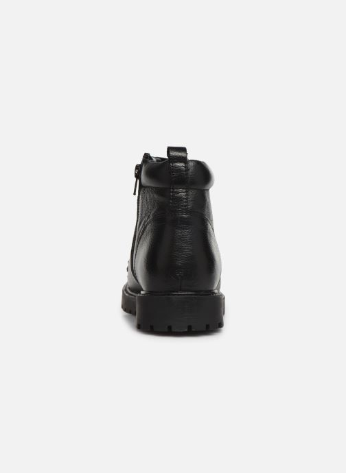 Ankle boots I Love Shoes THARCHE LEATHER Black view from the right
