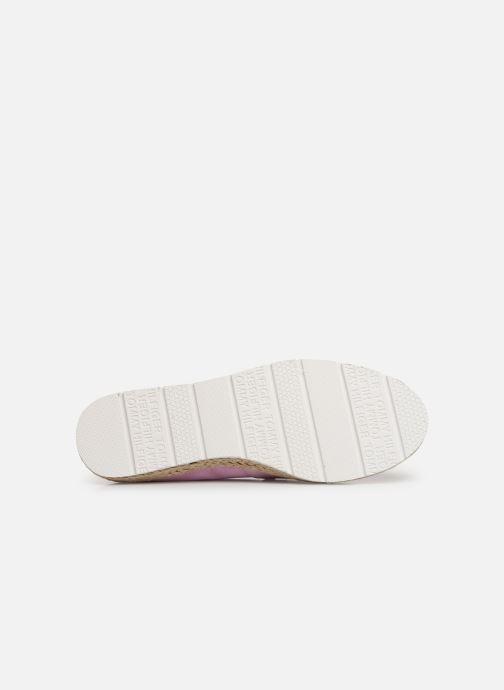 Scarpe di corda Tommy Hilfiger Basic Sporty Flat Es Rosa immagine dall'alto