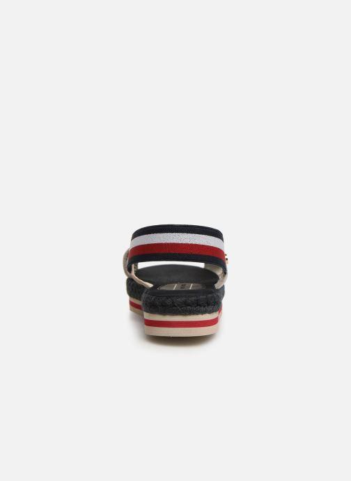 Sandales et nu-pieds Tommy Hilfiger Colorful Rope Flat S Blanc vue droite