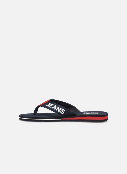 Chanclas Tommy Hilfiger Denim Beach Sandal Azul vista de frente