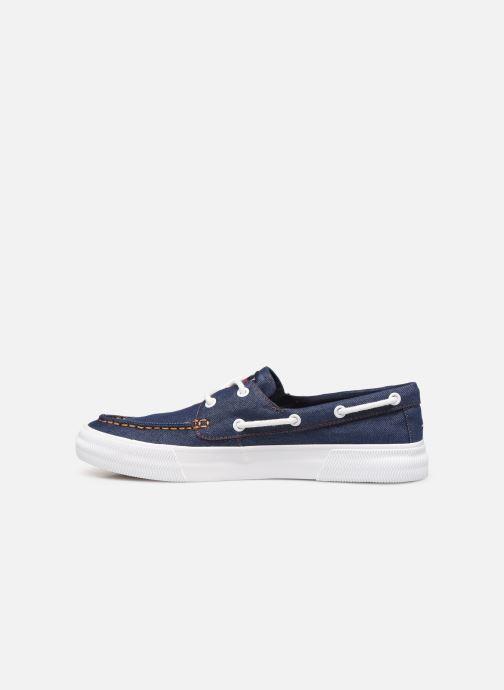 Chaussures à lacets Tommy Hilfiger Denim Hybrid City Sn Bleu vue face
