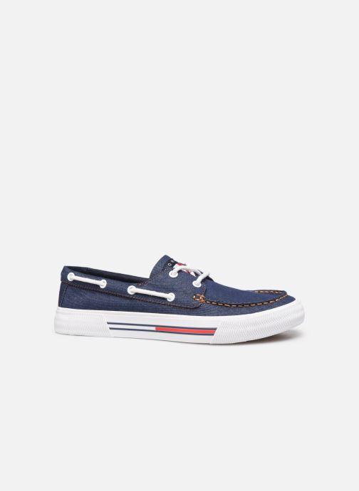 Chaussures à lacets Tommy Hilfiger Denim Hybrid City Sn Bleu vue derrière