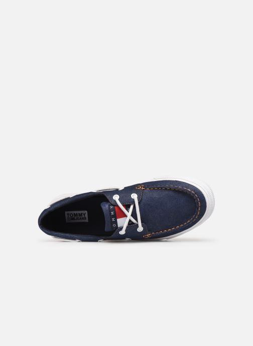 Chaussures à lacets Tommy Hilfiger Denim Hybrid City Sn Bleu vue gauche