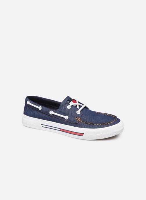 Chaussures à lacets Tommy Hilfiger Denim Hybrid City Sn Bleu vue détail/paire