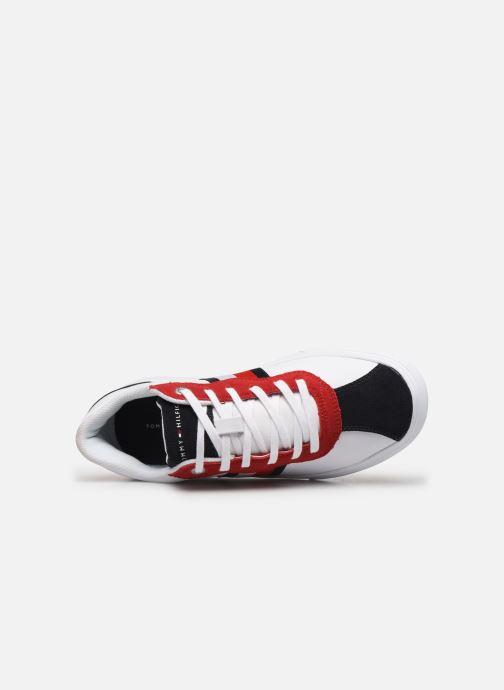 Baskets Tommy Hilfiger Essential Corporate Blanc vue gauche