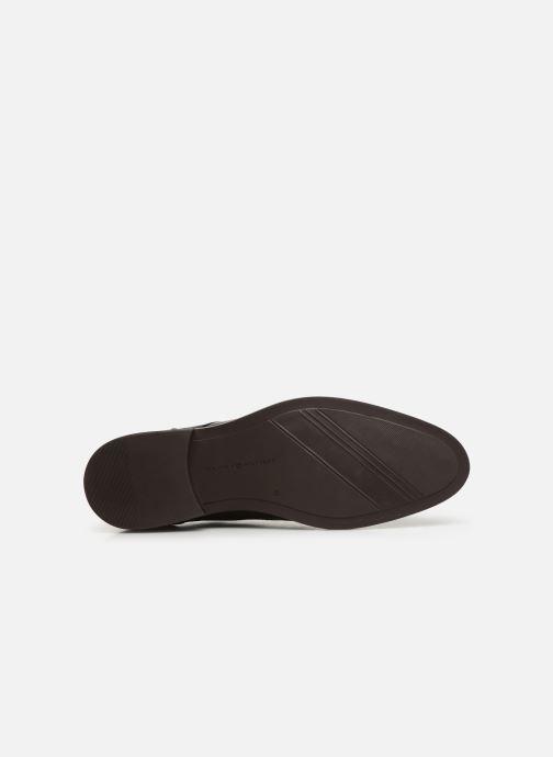 Chaussures à lacets Tommy Hilfiger Essential Lea Marron vue haut