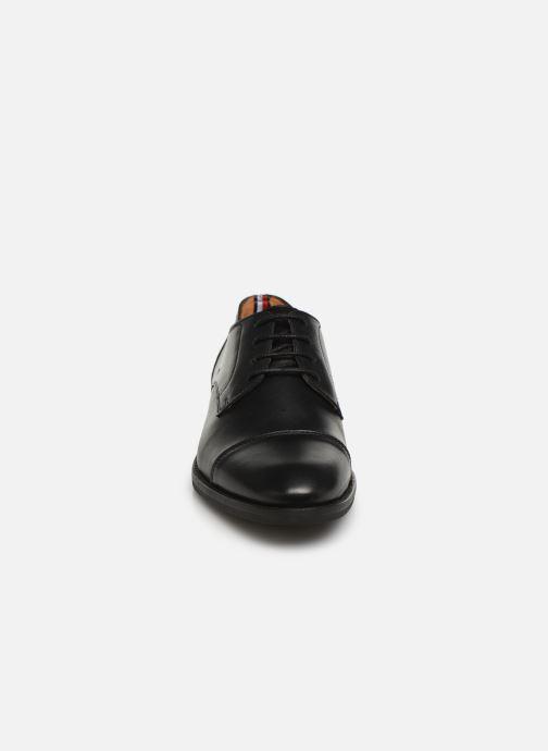 Chaussures à lacets Tommy Hilfiger Essential Leather To Noir vue portées chaussures