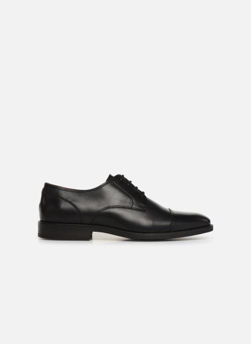 Zapatos con cordones Tommy Hilfiger Essential Leather To Negro vistra trasera