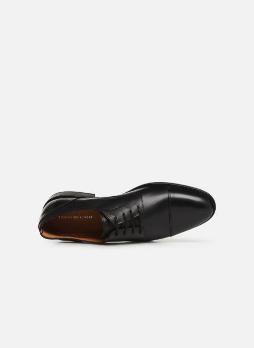 Zapatos con cordones Tommy Hilfiger Essential Leather To Negro vista lateral izquierda