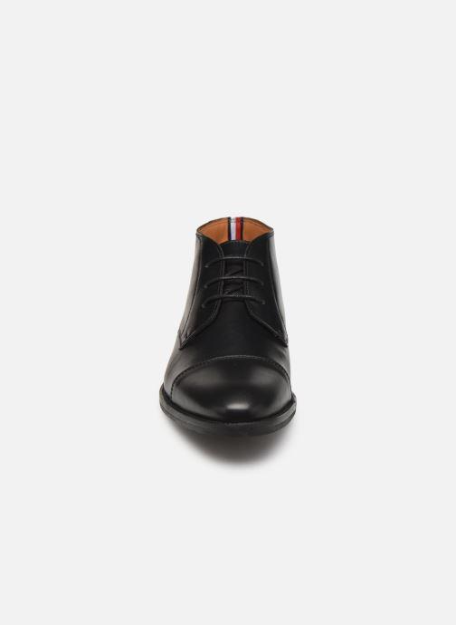Ankelstøvler Tommy Hilfiger Essential Leather To 2 Sort se skoene på