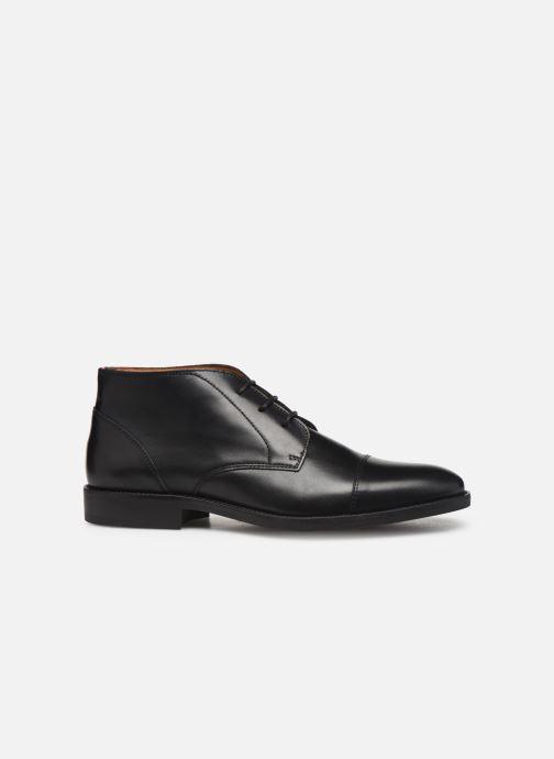 Ankelstøvler Tommy Hilfiger Essential Leather To 2 Sort se bagfra