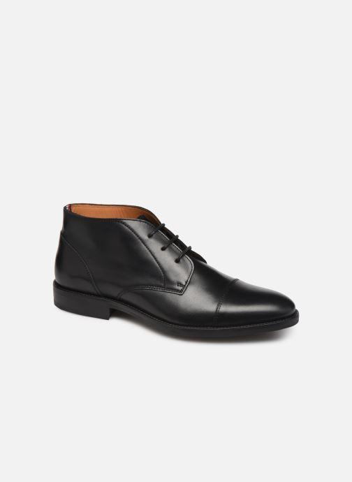 Ankelstøvler Tommy Hilfiger Essential Leather To 2 Sort detaljeret billede af skoene