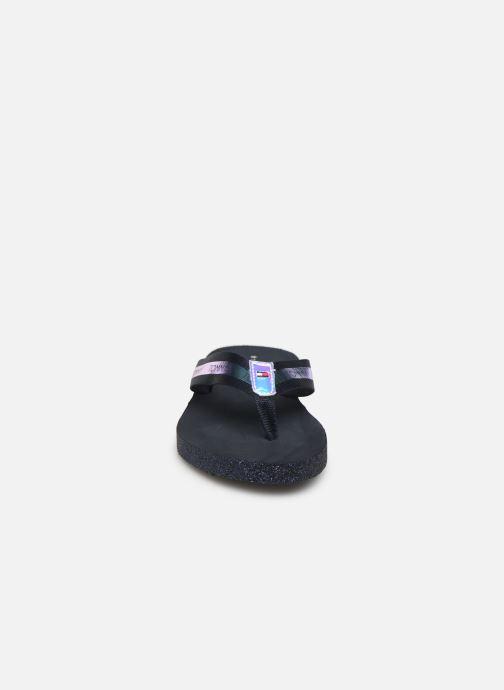 Flip flops & klipklapper Tommy Hilfiger Flat Beach Sandal Ir Blå se skoene på
