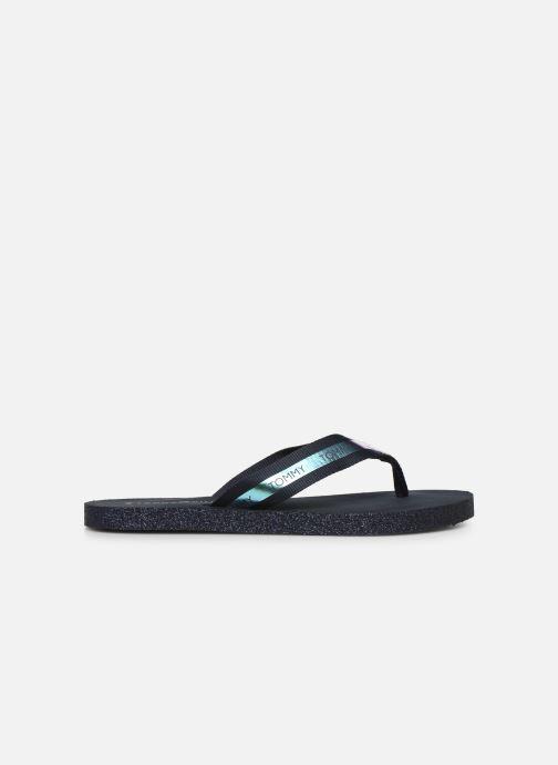 Flip flops & klipklapper Tommy Hilfiger Flat Beach Sandal Ir Blå se bagfra