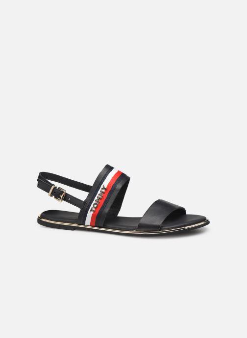 Sandales et nu-pieds Tommy Hilfiger Flat Sandal C Bleu vue derrière