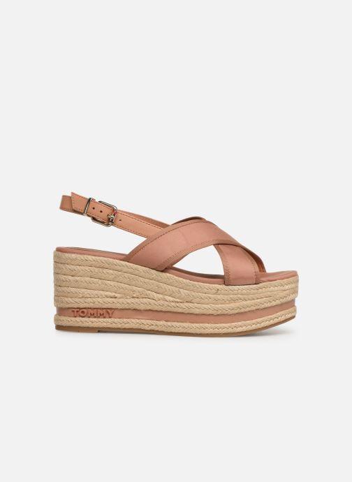 Scarpe di corda Tommy Hilfiger Flatform Sandal Tomm Beige immagine posteriore