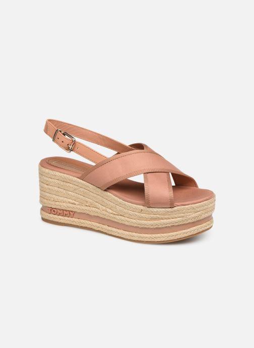 Scarpe di corda Tommy Hilfiger Flatform Sandal Tomm Beige vedi dettaglio/paio