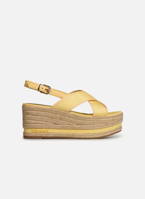 Scarpe di corda Tommy Hilfiger Flatform Sandal Tomm Giallo immagine posteriore