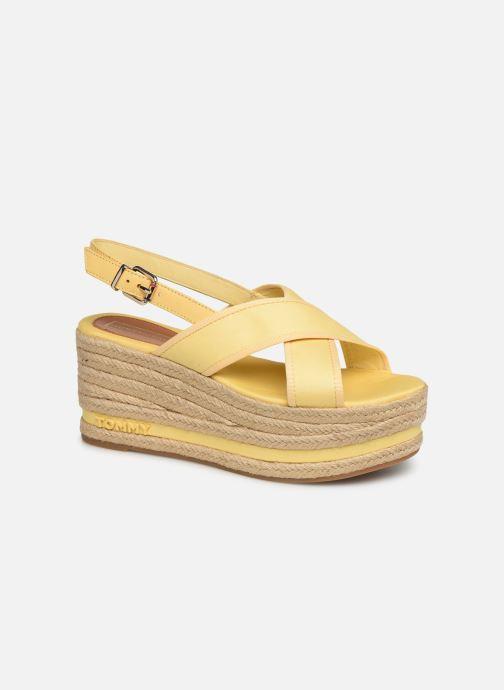 Espadrilles Tommy Hilfiger Flatform Sandal Tomm gelb detaillierte ansicht/modell
