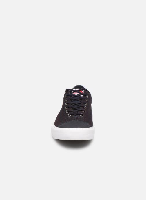Baskets Tommy Hilfiger Hilfiger Long Lace S Bleu vue portées chaussures