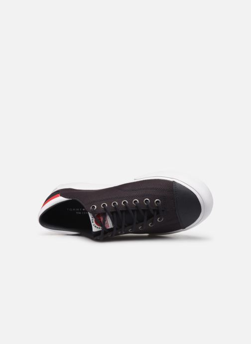 Sneakers Tommy Hilfiger Hilfiger Long Lace S Azzurro immagine sinistra