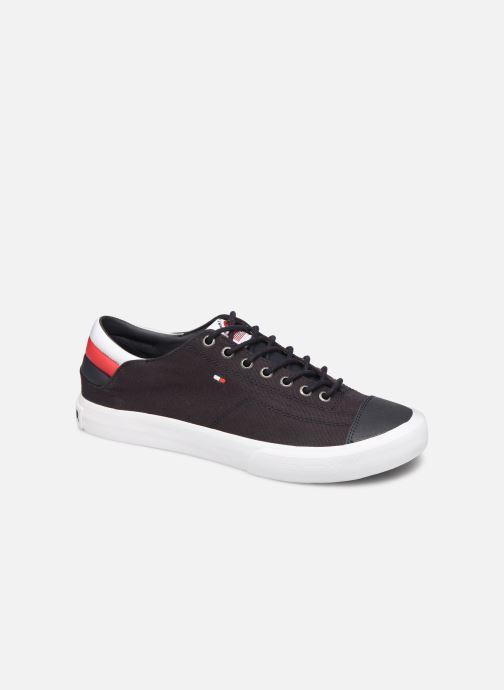 Sneakers Tommy Hilfiger Hilfiger Long Lace S Blå detaljeret billede af skoene