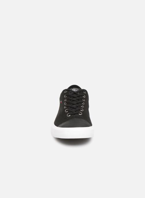 Sneaker Tommy Hilfiger Hilfiger Long Lace S schwarz schuhe getragen