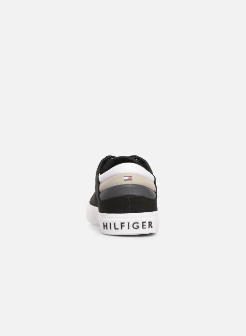 Trainers Tommy Hilfiger Hilfiger Long Lace S Black view from the right