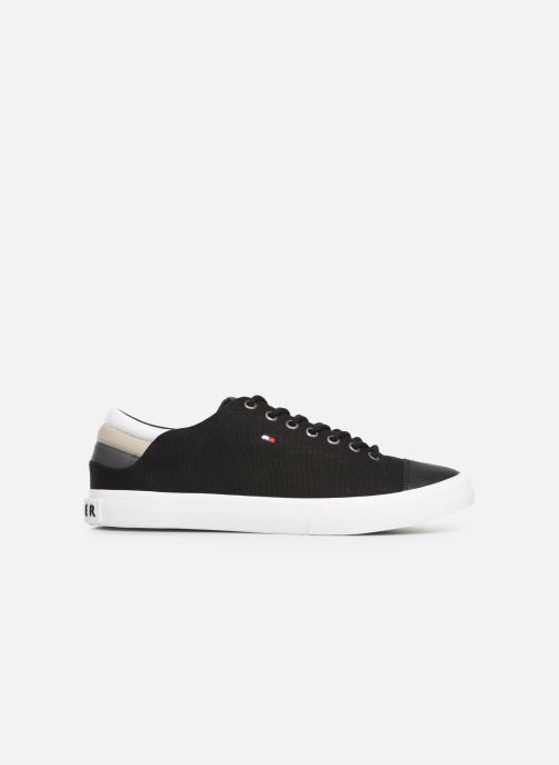 Trainers Tommy Hilfiger Hilfiger Long Lace S Black back view