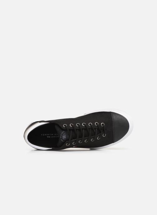 Sneaker Tommy Hilfiger Hilfiger Long Lace S schwarz ansicht von links